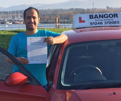 Assis<br/>I was very happy to pass first time with Richard, thank you for your help. I would highly recommend<br/><br/>